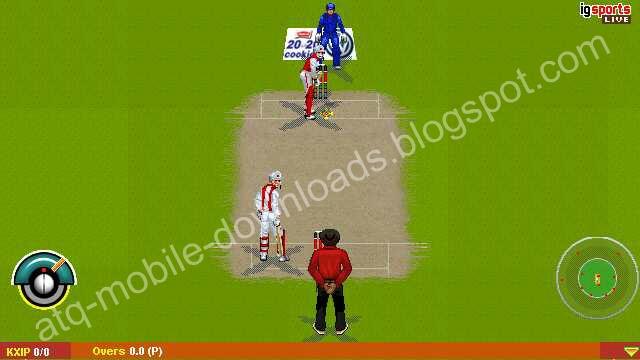 Samsung Mobile Cricket Java Game - Solo Square u