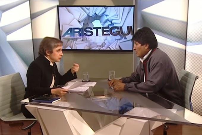 Aristegui saca evidencias a Evo y éste revela su macabro plan