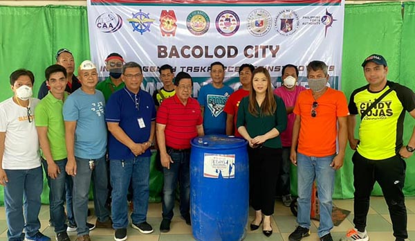alcohol, Bacolod blogger, Bacolod City, Bacolod City Streets, Bacolod City volunteers, Bayanihan sa Bacolod, Chamber Volunteer Fire Brigade, community quarantine, concerned citizens, covid-19, covid-19 crisis, covid-19 pandemic, covid-19 prevention, covid-19 test kits, disinfecting Bacolod City, face mask, face shield, firefighters, firemen, firetruck, health, help, helping frontliners, intubation units, Negros Occidental, PPE, quarantine, self quarantine, sterilizer, support, volunteer firefighters, volunteers, water, Zonrox bleach, ethyl alcohol
