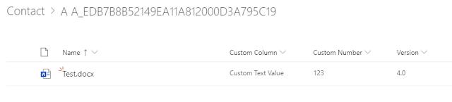 Sharepoint Columns