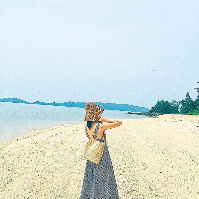 Đảo Cái Chiên Quảng Ninh đẹp bình yên qua ảnh check-in của giới trẻ 2