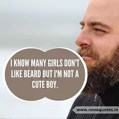 Beard Love Quotes