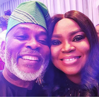 20 Years Marriage Celebration Of Nigerian Actor And His Wife Richard Mofe And Jumobi