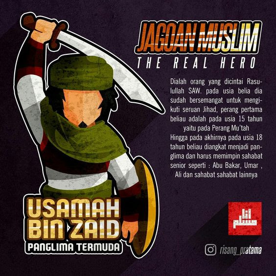 Usamah bin Zaid, Panglima Perang Termuda dalam Sejarah Islam