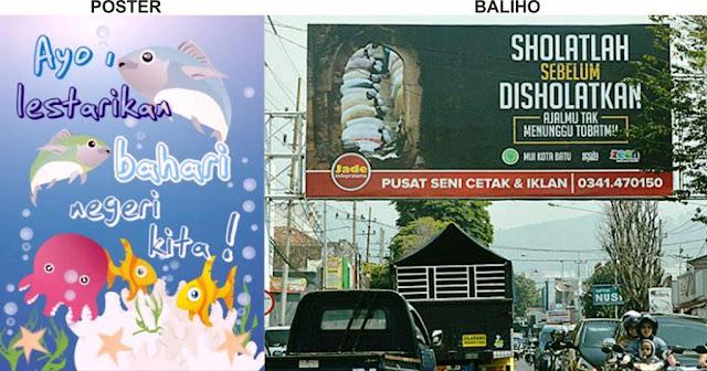karya seni rupa 2 dimensi reklame