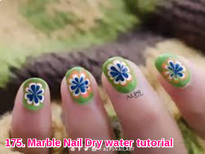 Marble Nail Dry water tutorial