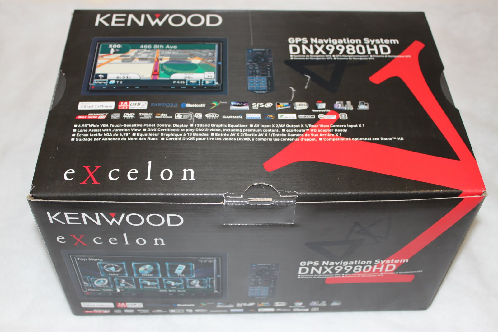 Kenwood Excelon DNX9980HD Fully Loaded Multimedia Navigation Car Receiver  Review