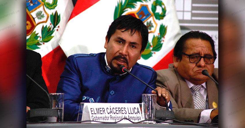 Destituyen a Gobernador de Arequipa por incumplir protocolos contra el covid-19