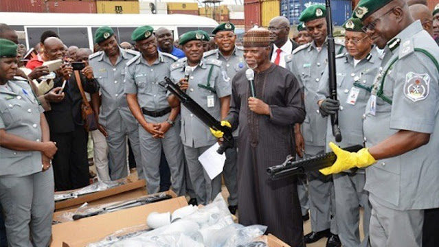 Kebbi: Customs intercepts 73 locally-made guns, 891 cartridges