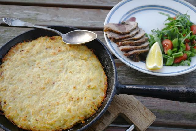 potatiskaka med fetaost