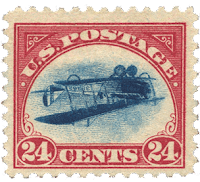 valuable usa stamp 1918