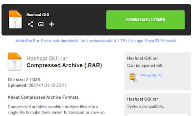 HashCat GUI Descarga