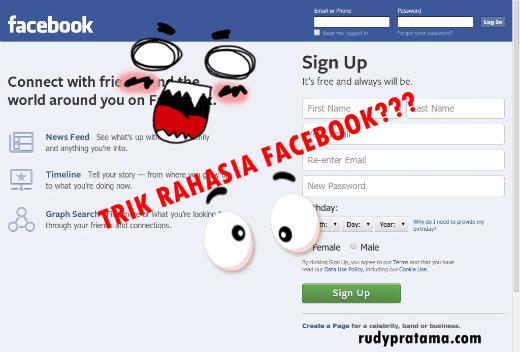 trik rahasia facebook