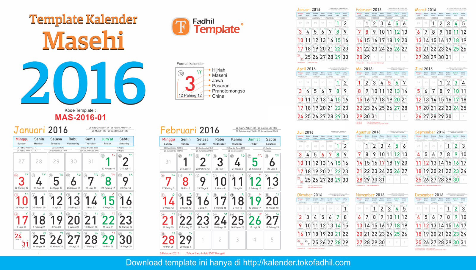 pusat template kalender template kalender 2016 corel editable cdr ai psd pdf photoshop telah. Black Bedroom Furniture Sets. Home Design Ideas