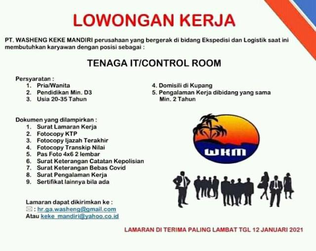 lowongan kerja terbaru di indonesia khusunya kota kupang ntt