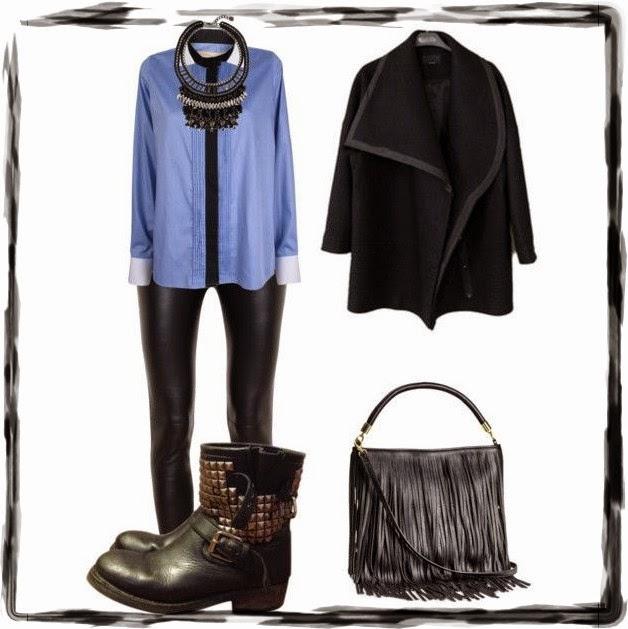 Outfit abrigo oversize