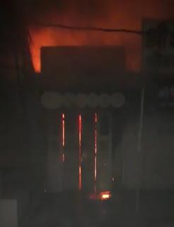 शॉर्ट सर्किट से लगी भीषण आग