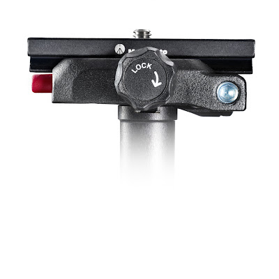 Manfrotto MSQ6 Top Lock QR Adapter - lock knob