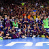 Barcelona 3-2 ElPozo Murcia: El Barça Lassa se proclama campeón de Liga en el quinto partido