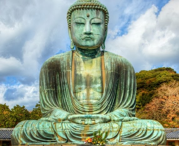 The Great Buddha of Kamakura , Japan