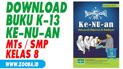 Download Buku Ke-NU-an K13 untuk MTs/SMP Kelas 8