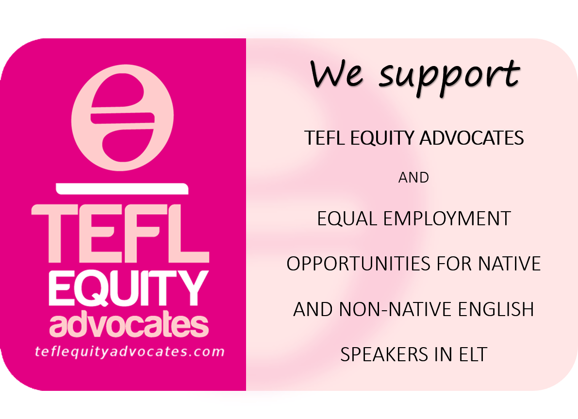 I support TEFL Equity