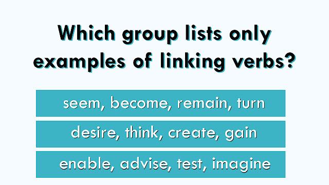 Action Verbs Vs Linking Verbs