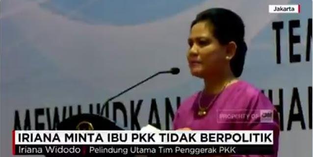 Jadi Kandidat Kuat Di 2024, Video Larangan Berpolitik Iriana Jokowi Kembali Beredar