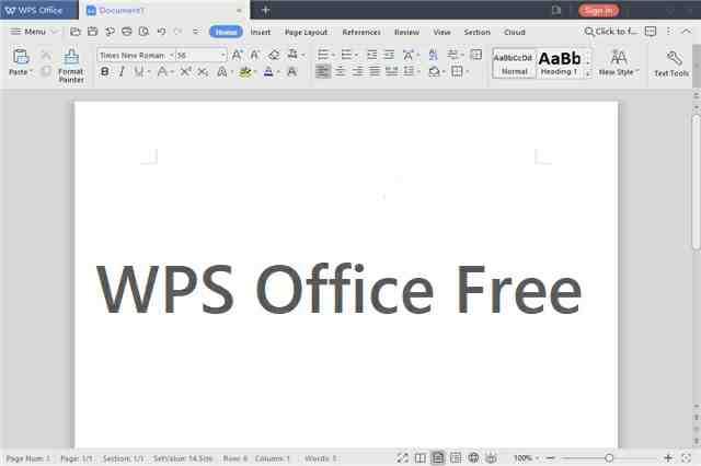 تحميل برنامج تشغيل ملفات الأوفيس WPS Office Free مجانا