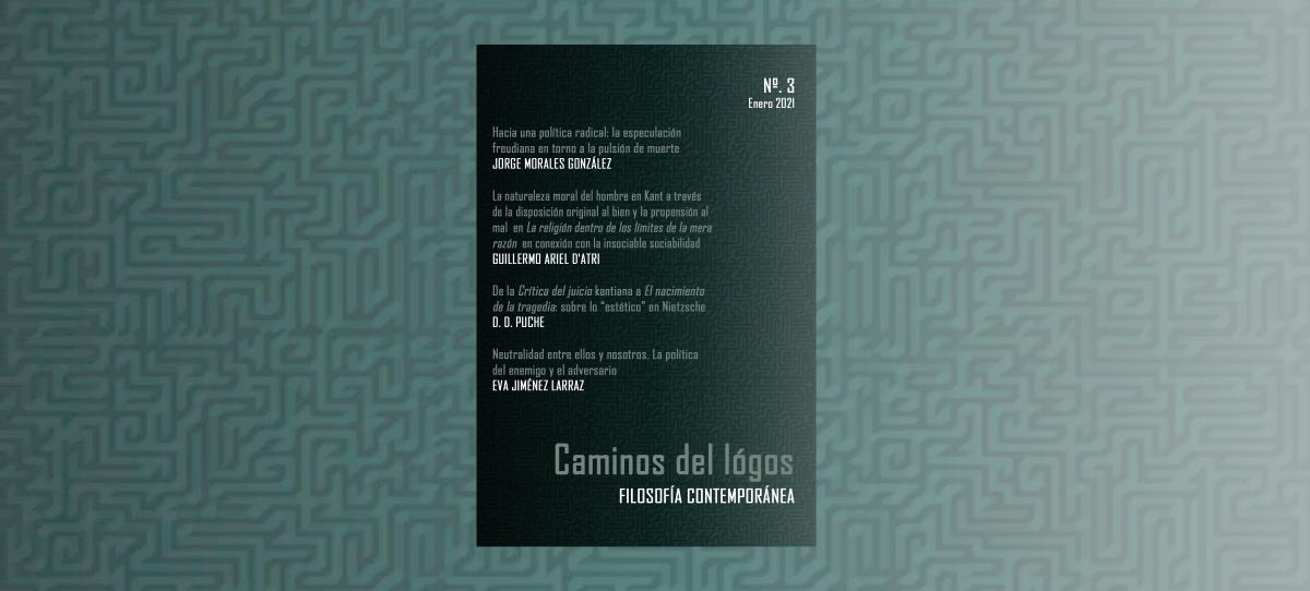 Caminos del lógos | Revista de filosofía contemporánea