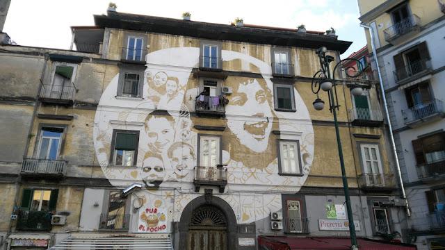 Murales Luce-Rione Sanità-Napoli