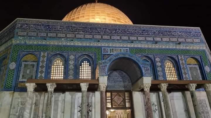 Peringati Isra' Mi'raj, Para Aktivis Ajak Warga Palestina Siaga di Masjid Al-Aqsa