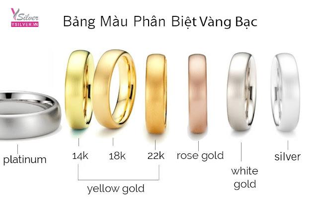 Trang sức bạc xi vàng