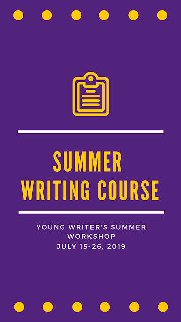 Hope's best young writers from all grades wanted for writing workshop