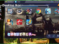 Setting Bluestacks agar tidak buat Shortcut di Desktop
