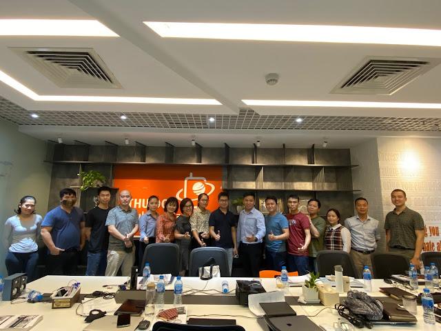 Đào tạo Ms Project tại Công ty Thủ Đô Multimedia 1