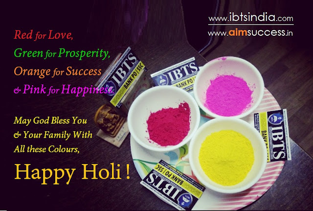 IBTS Wishing You All  Happy Holi 2018