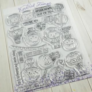 Kindred Stamps Stranger Friends Stamp Set