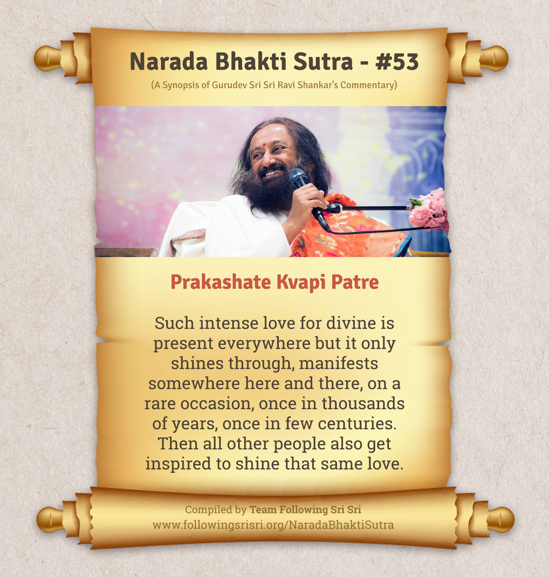 Narada Bhakti Sutras - Sutra 53