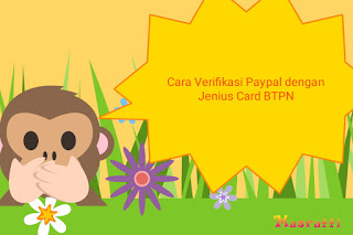 Cara Verifikasi Paypal dengan Jenius Card BTPN