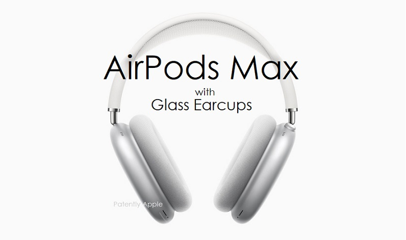 AirPods Max With Glass Earcups