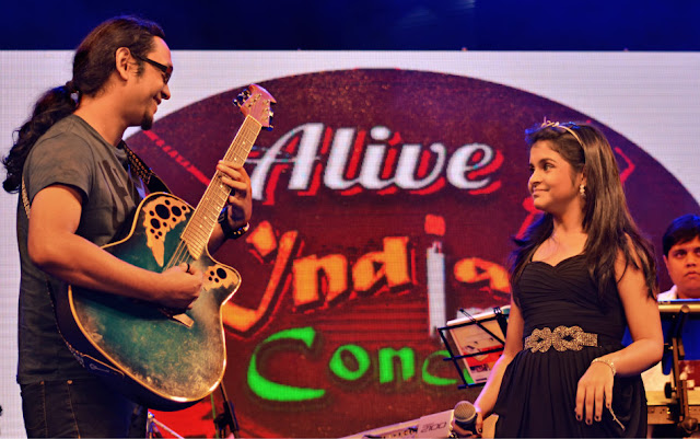 Jim Ankan Deka and Antara Nandi - Alive India Concert - Parmita Borah photography