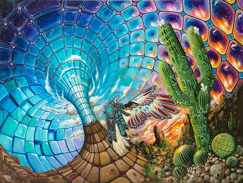 Dmt Art 40 Visionary Paintings Inspired By Dmt