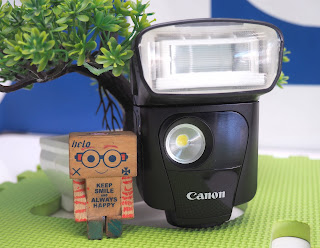 External Flash Canon 320EX Bekas
