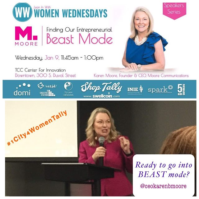 Karen B Moore_Tallahassee_Women Wednesdays
