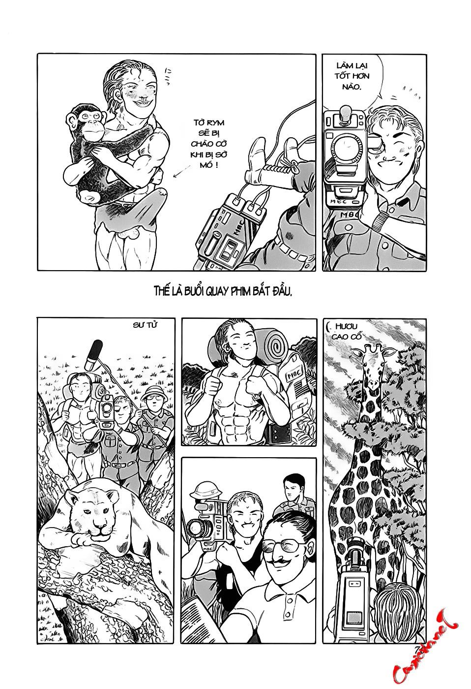 Chúa rừng Ta-chan chapter 9 trang 4