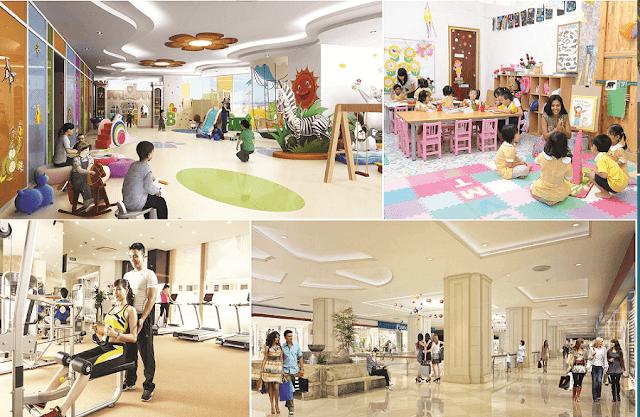 Tiện ích sang trọng của căn hộ chung cư Sun Group Quảng An.