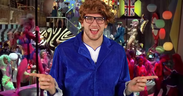 Luka Doncic as Austin Powers