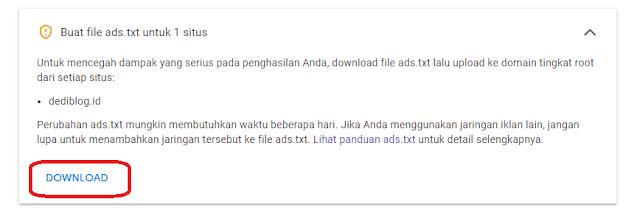 Masalah File Ads.txt Saat Memulai Google Adsense