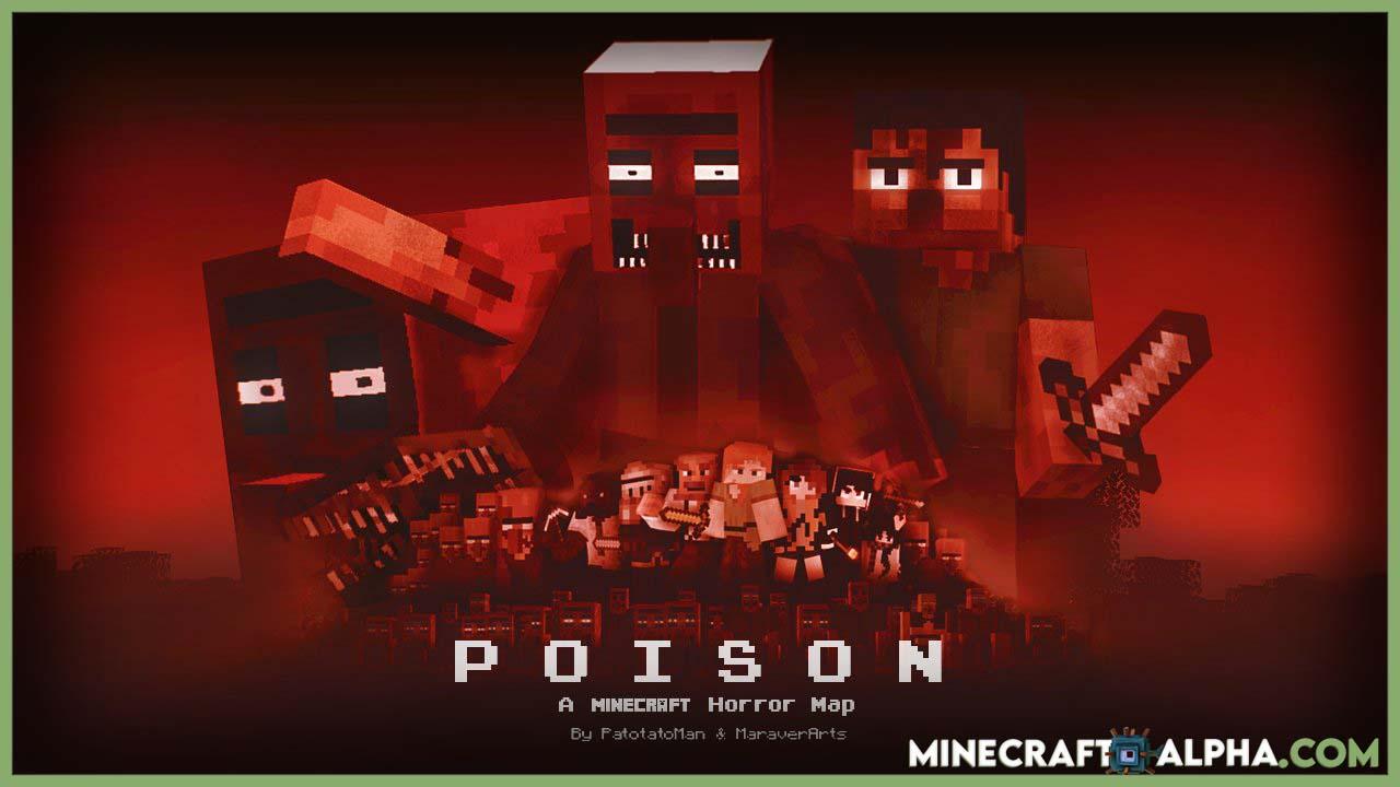 Poison Minecraft Horror 2021 New Map